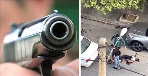 درگیری مسلحانه اراذل و اوباش در سعادت آباد,اخبار حوادث,خبرهای حوادث,جرم و جنایت