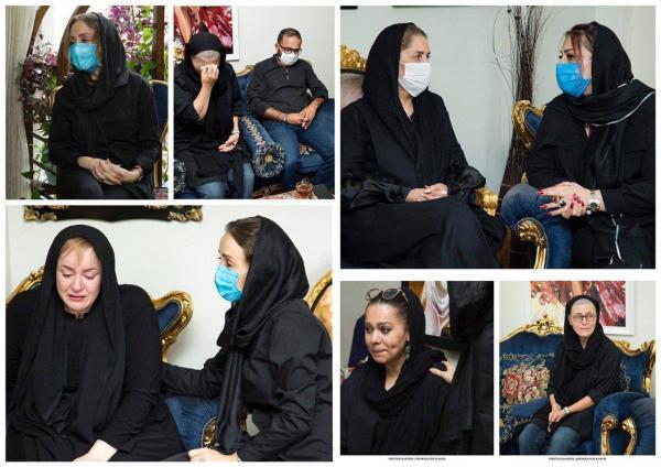 مراسم خاکسپاری ماهچهره خلیلی,اخبار هنرمندان,خبرهای هنرمندان,اخبار بازیگران