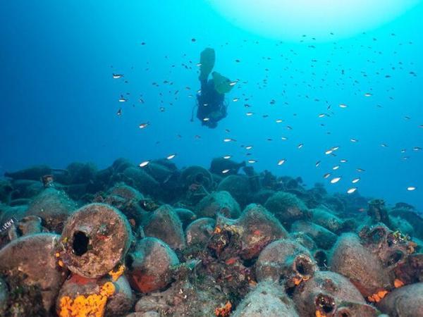افتتاح یک موزه زیردریایی در یونان,اخبار جالب,خبرهای جالب,خواندنی ها و دیدنی ها