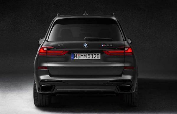 نسخه Dark Shadow خودروی X7 بی ام و,اخبار خودرو,خبرهای خودرو,مقایسه خودرو
