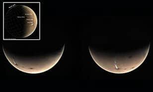 ابر غول پیکر مرموز روی سطح مریخ,اخبار علمی,خبرهای علمی,نجوم و فضا