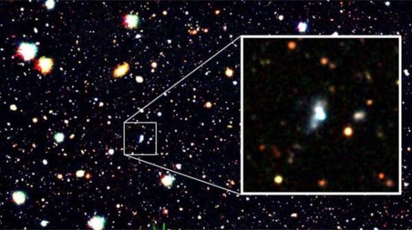 کهکشان با مقدار اکسیژن کم,اخبار علمی,خبرهای علمی,نجوم و فضا