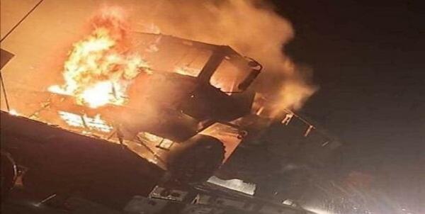 حمله به کاروان لجستیک ارتش آمریکا در جنوب عراق,اخبار سیاسی,خبرهای سیاسی,خاورمیانه