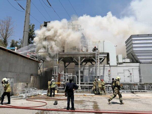 انفجار در مخزن یک کارخانه صنایع غذایی,اخبار حوادث,خبرهای حوادث,حوادث امروز