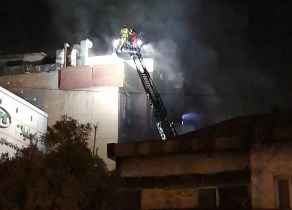 مشخص شدن علت انفجار در کلینیک سینا مهر