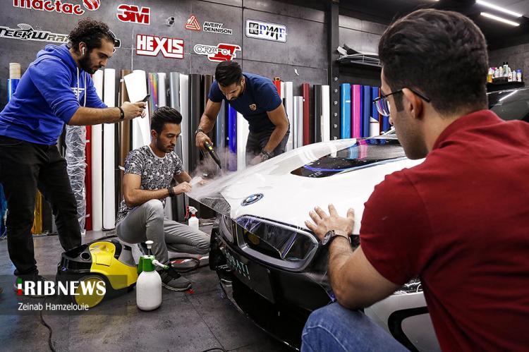 تصاویر تیونینگ خودروهای میلیاردی در تهران,عکس های خودروهای گران قیمت در تهران,تصاویر خودروهای گران در ایران