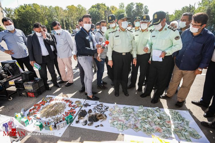 تصاویر مرحله 37 طرح رعد پلیس پیشگیری پایتخت,عکس سارقان در مرحله 37 طرح رعد,تصاویری از نمایشگاه مرحله 37 طرح رعد
