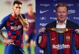 لیونل مسی و رونالد کومان,اخبار فوتبال,خبرهای فوتبال,اخبار فوتبال جهان