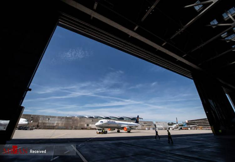 تصاویر سرویس هواپیماهای شرکت لوفت هانزا,عکس های شرکت لوفت هانزا در آلمان,تصاویر هواپیماهای لوفت هانزا در آلمان