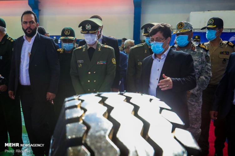 تصاویر افتتاح کارخانه تولید لاستیک SUV,عکس های کارخانه تولید لاستیک در ایران,تصاویری از افتتاح کارخانه تولید لاستیک SUV ایرانی