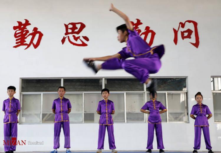تصاویر کودکان در تعطیلات تابستانی در چین,عکس های کودکان چینی در تعطیلات تابستانی,تصاویری از کودکان چینی