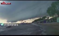 فیلم/ ابرهای نادر در آسمان چین