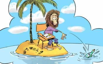 کاریکاتور در مورد معضل جدید کنکوریها در شرایط کرونا,کاریکاتور,عکس کاریکاتور,کاریکاتور اجتماعی