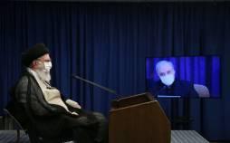 تصاویر دیدار مجازی هیات دولت با رهبر انقلاب,عکس های دیدار هیات دولت با آیت الله خامنه ای,تصاویر جلسه هیا دولت در 2 شهریور 99