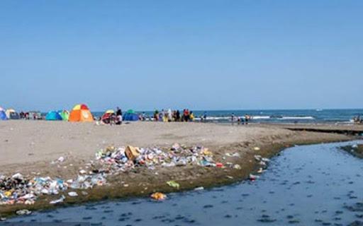 ورود فاضلاب خانگی به دریای خزر/ میزان بالای آلودگی دریا به