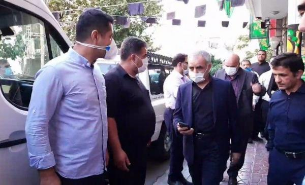 تاج و اعضای هیات رئیسه فدراسیون فوتبال برای پاسخگویی در مجلس حاضر شدند / عکس