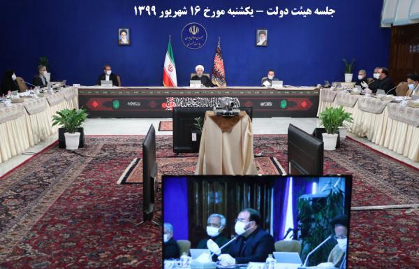 جلسه هیات دولت در 16 شهریور 99,اخبار سیاسی,خبرهای سیاسی,دولت