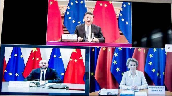 رئیس شورای اتحادیه اروپا و رئیس جمهور چین,اخبار سیاسی,خبرهای سیاسی,اخبار بین الملل