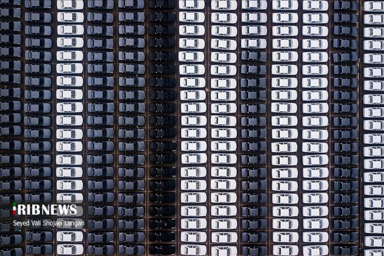 تصاویر دپوی محصولات ایرانخودروی بابل,عکس های دپوی خودرو در بابل,تصاویری از دپوی خودرو در ایران خودروی بابل