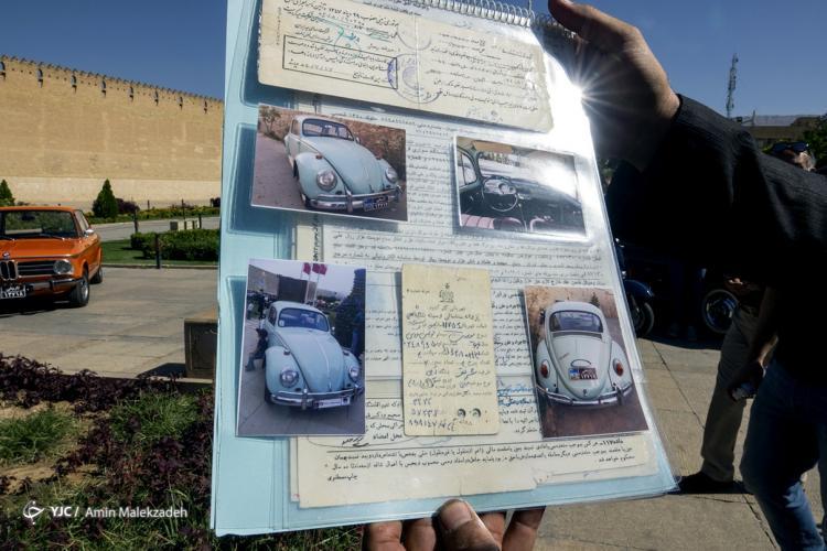 تصاویر نمایشگاه خودروهای کلاسیک در شیراز,عکس های نماشگاه خودروی شیراز،تصاویر عکس های ماشین در شیراز