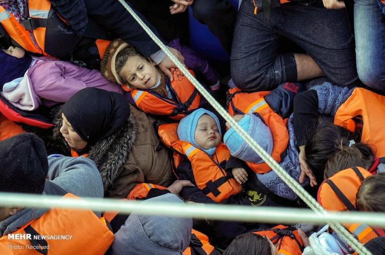 تصاویر نگرانیها از شیوع کرونا در بزرگترین اردوگاه پناهجویان یونان,عکس های پناهجویان یونان,تصاویر ترس از شیوع کرونا در پناهجویان یونان