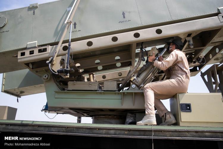 تصاویر شلیک موشک قادر در رزمایش ذوالفقار ۹۹ ارتش,عکس های موشک قادر,تصاویر رزمایش ذوالفقار ۹۹ ارتش