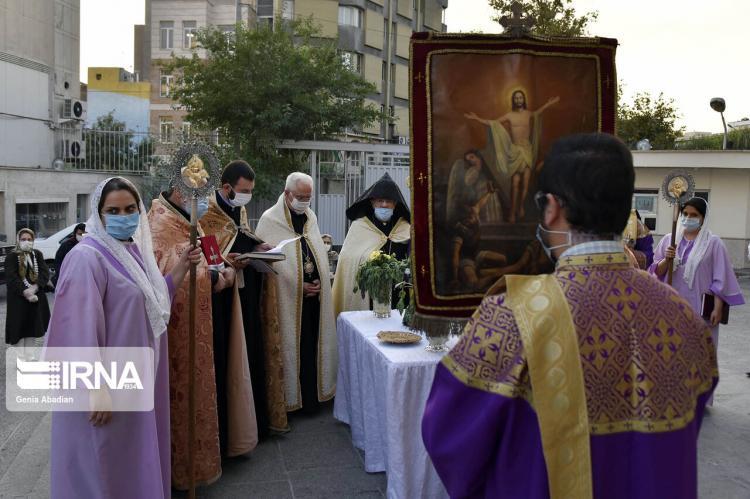 تصاویر بزرگداشت صلیب مقدس,عکس های مراسم بزرگداشت صلیب مقدس,تصاویری از برگزاری مراسم بزرگداشت صلیب مقدس