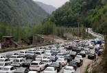 ترافیک در جادههای شمال,اخبار اجتماعی,خبرهای اجتماعی,وضعیت ترافیک و آب و هوا