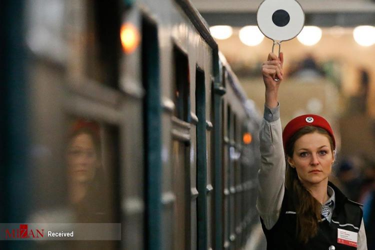 تصاویر مترو مسکو,عکس های سفر به زیر زمین در مترو مسکو,تصاویری از متروی مسکو