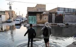 طغیان فاضلاب در محلات کوت عبدالله,اخبار اجتماعی,خبرهای اجتماعی,شهر و روستا