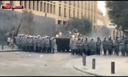 فیلم/ تظاهرات امروز در بیروت