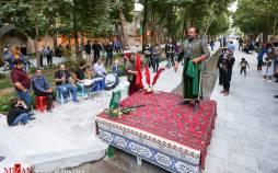 تصاویر اجرای تعزیه در چهارباغ اصفهان,عکس های تعزیه در اصفهان,تصاویر مراسم تعزیه خوانی در اصفهان
