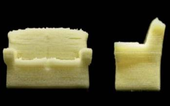 چاپ سه بعدی مبل خوردنی با پودر شیر,اخبار علمی,خبرهای علمی,پژوهش