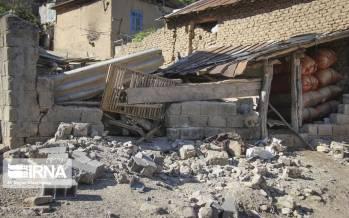 تصاویر رامیان گلستان بعد از زلزله,عکس های زلزله در رامیان گلستان,تصاویر زلزله 5 ریشتری در رامیان گلستان