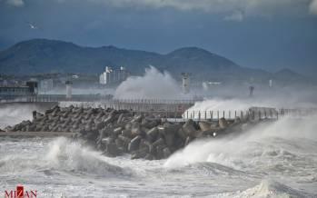 تصاویر طوفان هایشن در ژاپن,عکس های طوفان ژاپن,تصاویر طوفان هایشن