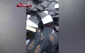 فیلم/ فروش پایان نامه های دانشگاه آزاد بوشهر به ضایعاتی ها