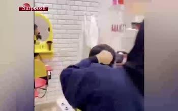 فیلم/ اولین دختر آرایشگر عربستانی