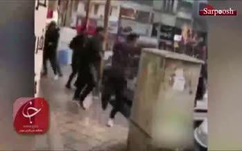 فیلم/ عذرخواهی گنده لاتهای تهرانپارس از مردم پس از دستگیری