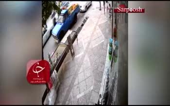 فیلم/ حمله با قمه به یک مغازهدار در صباشهر تهران