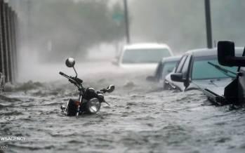 تصاویر خسارات ناشی از طوفان سالی در آمریکا,عکس های طوفان در آمریکا,تصاویر طوفان آمریکا