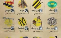اینفوگرافیک در مورد عجیب ترین واردات به ایران