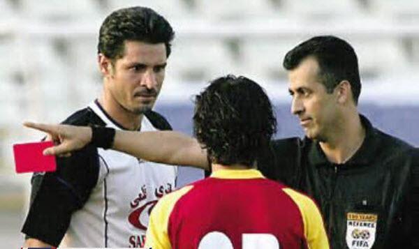 تکلی خشن مبعلی روی پای علی دایی,اخبار فوتبال,خبرهای فوتبال,نوستالژی