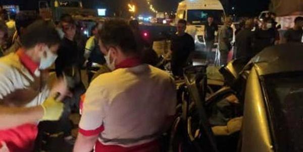 حادثه تصادف خودرو,کار و کارگر,اخبار کار و کارگر,حوادث کار