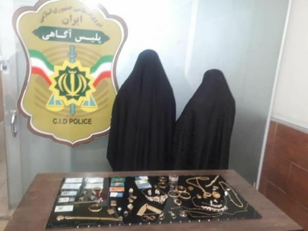 سرقت طلا از یک خانه توسط دو زن در مرکزی,اخبار حوادث,خبرهای حوادث,جرم و جنایت