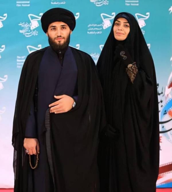 الهام چرخنده و همسرش در افتتاحیه جشنواره فیلم مقاومت,اخبار هنرمندان,خبرهای هنرمندان,اخبار بازیگران