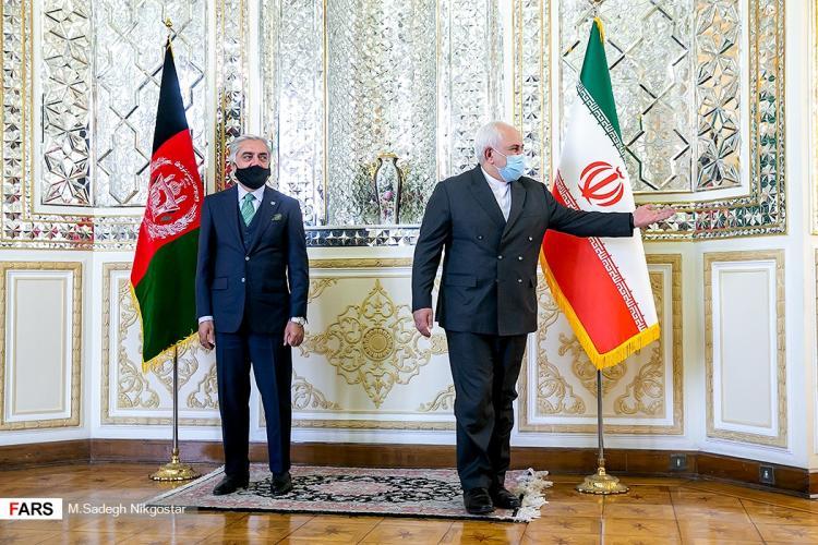 تصاویر دیدار عبدالله عبدالله و ظریف,عکس های دیدار ظریف و عبدالله عبدالله,تصاویر دیدار وزیر امور خارجه و رئیس شورای عالی افغانستان