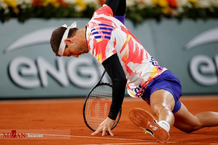 تصاویر تورنومنت رولندگاروس,عکس های مسابقات تنیس رولندگاروس در فرانسه,تصاویر نادال در مسابقات تنیس رولندگاروس در فرانسه