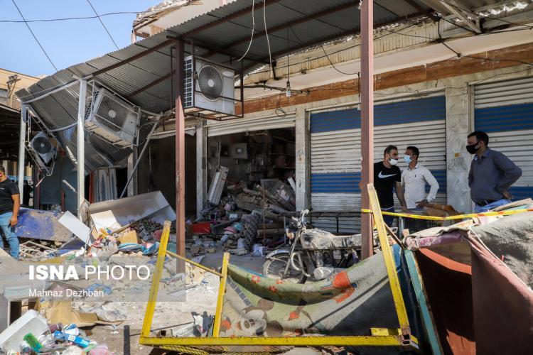 تصاویر انفجار گاز در یک خانه مسکونی در منطقه عامری اهواز,عکس های انفجار گاز در اهواز,تصاویر انفجار گاز در یک خانه اهوازی