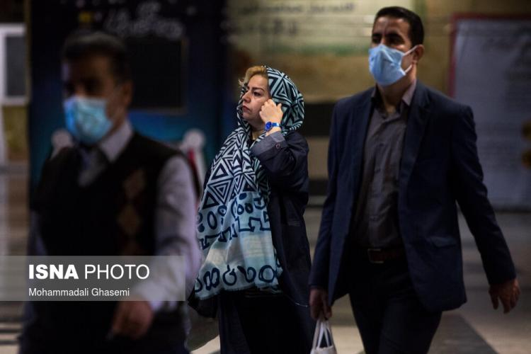 تصاویر تهران در اولین روز اجباری شدن ماسک,عکس های شهر تهران در شرایط کرونا,تصاویر وضعیت تهران در اوضاع کرونا
