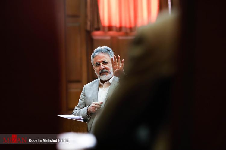 تصاویر دادگاه محمد امامی,عکس های سومین دادگاه سید محمد امامی,تصاویر دادگاه کارگردان سریال شهرزاد